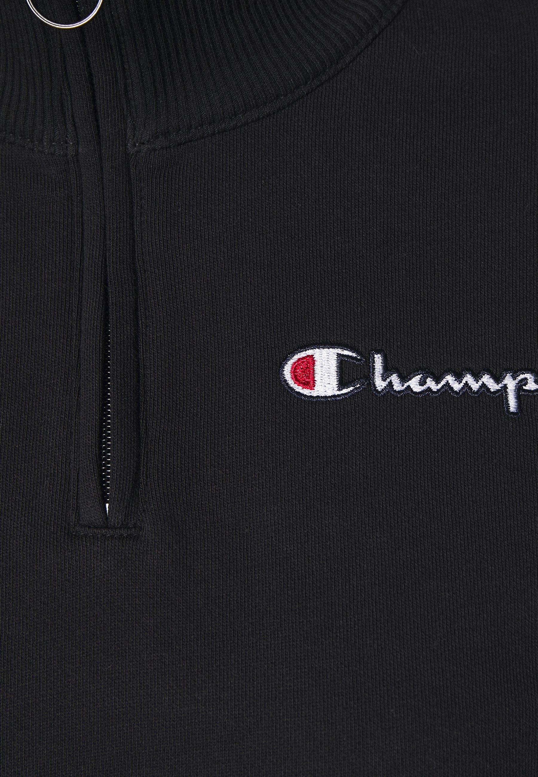Champion HALF ZIP ROCHESTER - Sweatshirt - black vOFtg