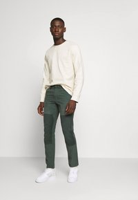 G-Star - FAEROES CLASSIC STRAIGHT TAPERED PM - Trousers - balsam - 1