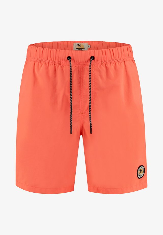 TOM - Shorts da mare - neon orange