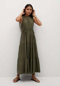 Mango - ABRIL - Maxi šaty - khaki - 0