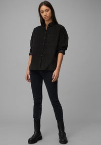 Marc O'Polo DENIM - Button-down blouse - black - 1