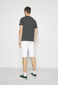 INDICODE JEANS - COMMERCIAL KEN HOLES - Shorts di jeans - offwhite - 2