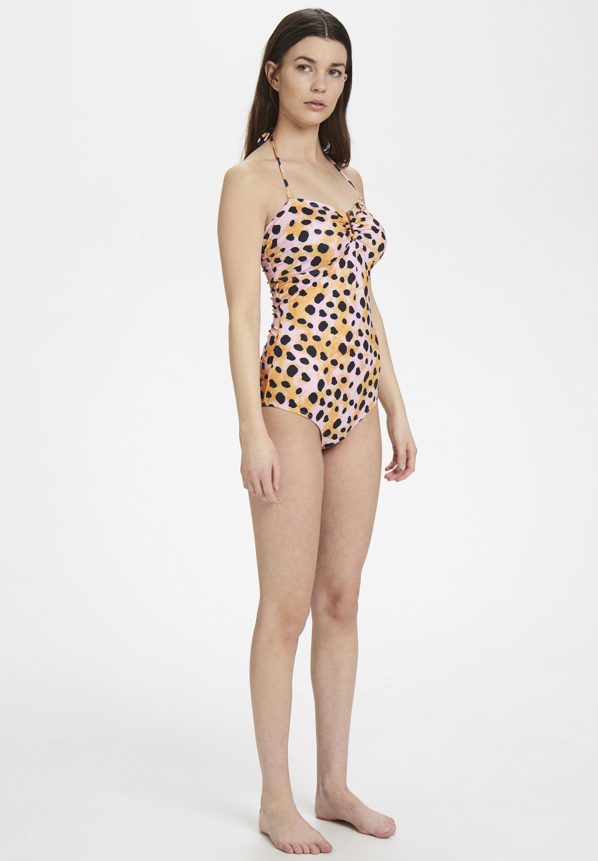 New Arrival Fashion Women's Clothing Gestuz KELLYGZ Swimsuit orange leo 7gtSOZPxX