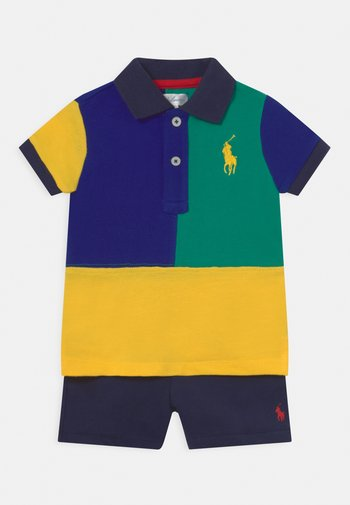 SET - Shorts - active royal/multi-coloured