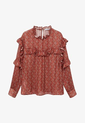 COUNTRY - Blouse - burnt orange