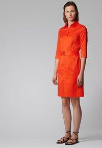 BOSS - DALIRI1 - Shirt dress - orange - 1
