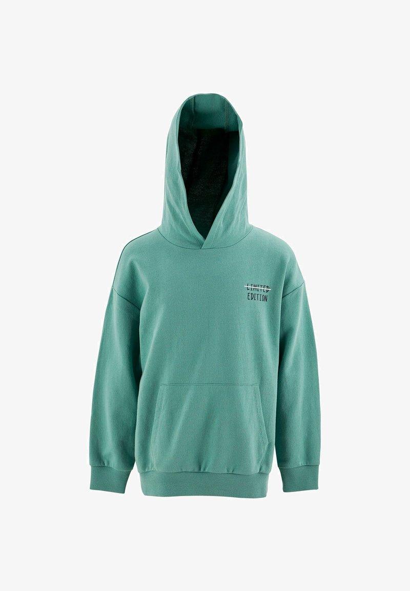 DeFacto - Zip-up sweatshirt - turquoise