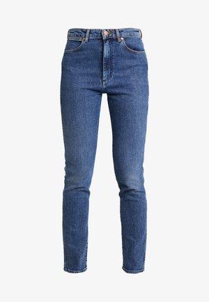 RETRO - Jeans Skinny Fit - blue denim