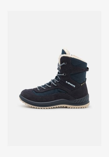 ELLA GTX - Winter boots - navy/eisblau