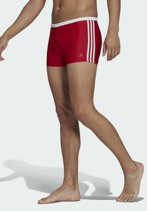 3-STREIFEN BOXER - Swimming trunks - red
