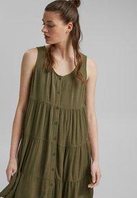 edc by Esprit - Day dress - khaki green - 3