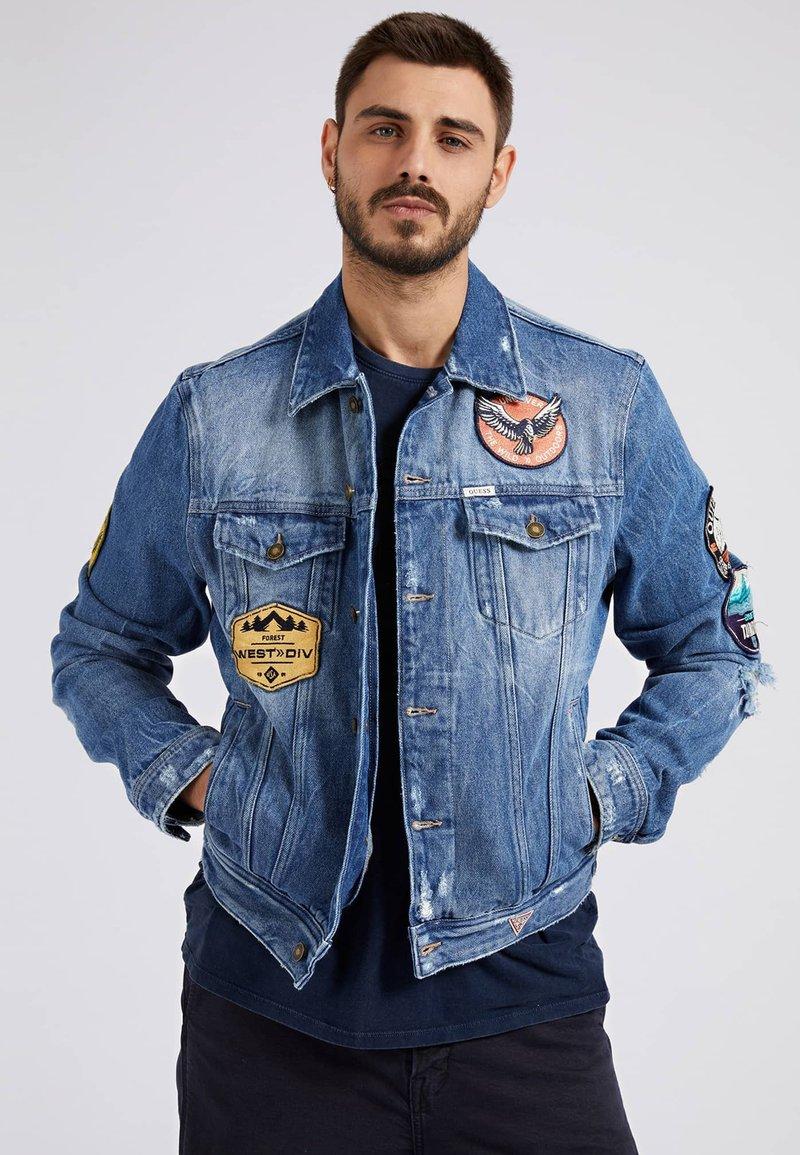 Guess - Veste en jean - blau