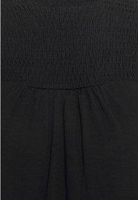 Dorothy Perkins Tall - BLACKSHIRRED DRESS - Jersey dress - black - 6
