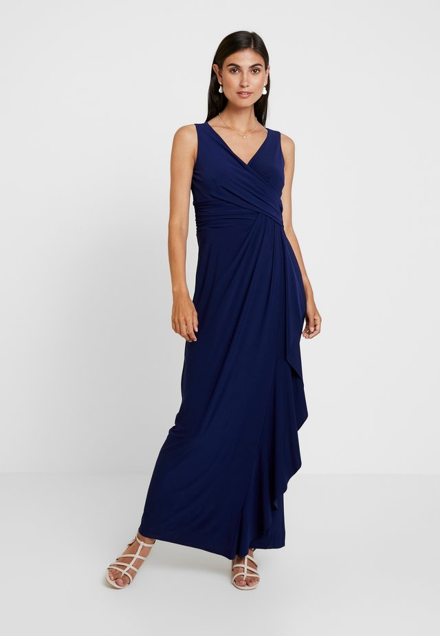 LANG - Maxi šaty - funky blue
