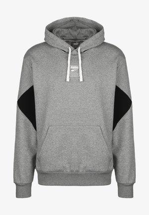 REBEL - Kapuzenpullover - medium gray heather