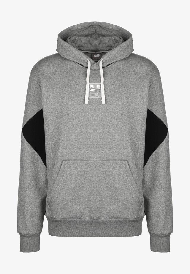 REBEL - Hoodie - medium gray heather
