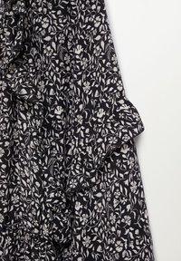 Violeta by Mango - FLOWER - Maxi dress - schwarz - 5