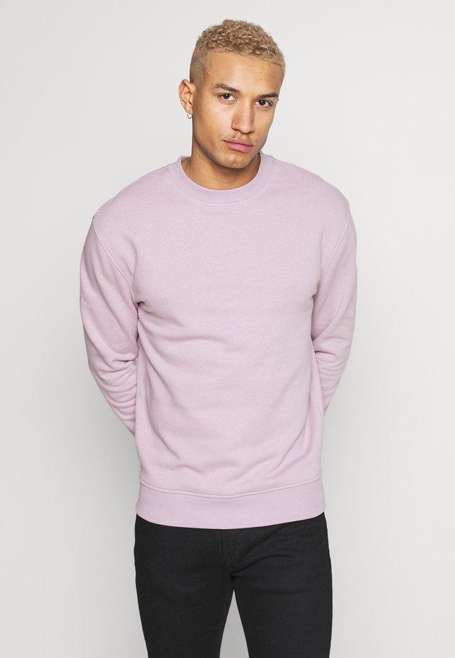 RELAXED CREW  - Sweatshirt - lilac