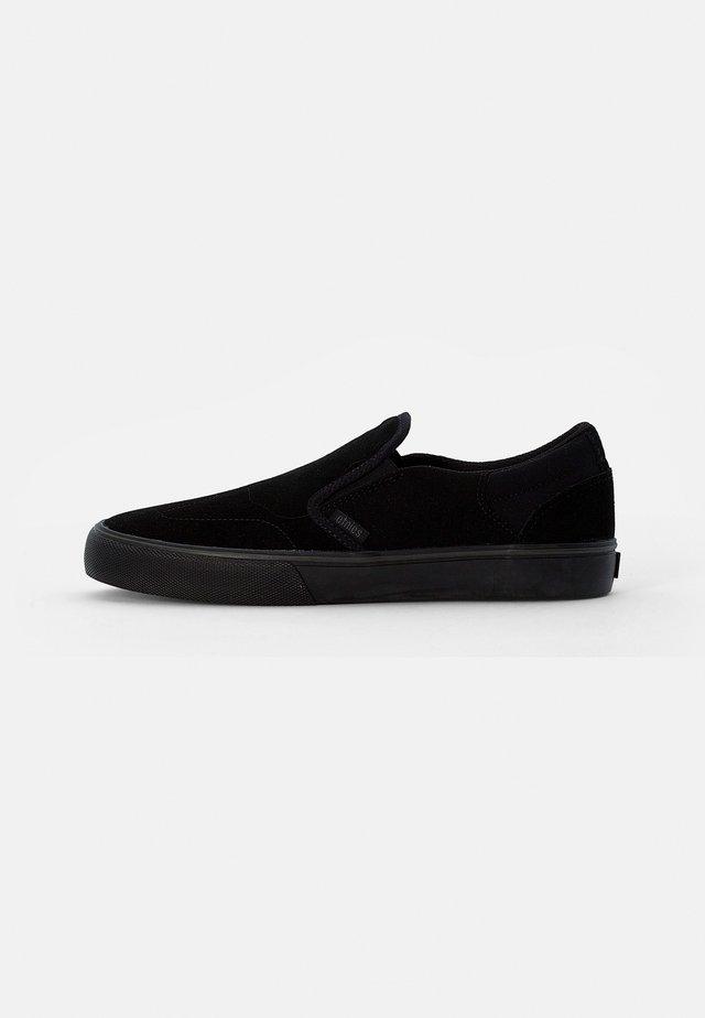 MARANA SLIP - Sneakers - black/black