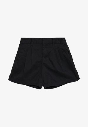 PLEATED - Shorts - true black