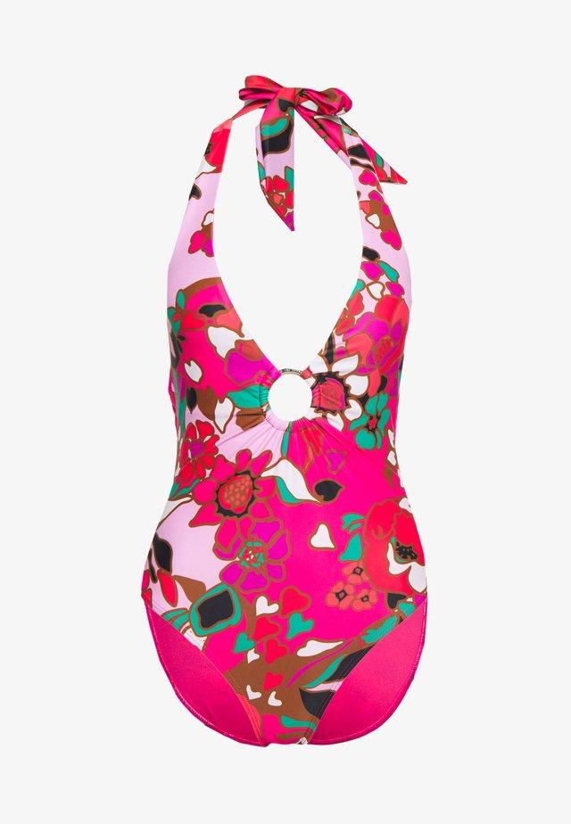 PINATA PLUNGE O RING SWIMSUIT - Kostium kąpielowy - pink