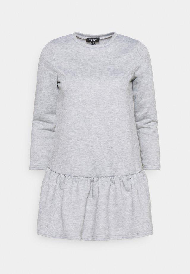 DROP HEM DRESS - Day dress - grey niu