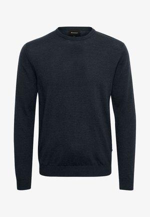MARGRATE - Stickad tröja - dark navy