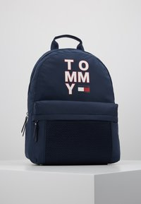Tommy Hilfiger - KIDS BACKPACK - Reppu - blue - 0