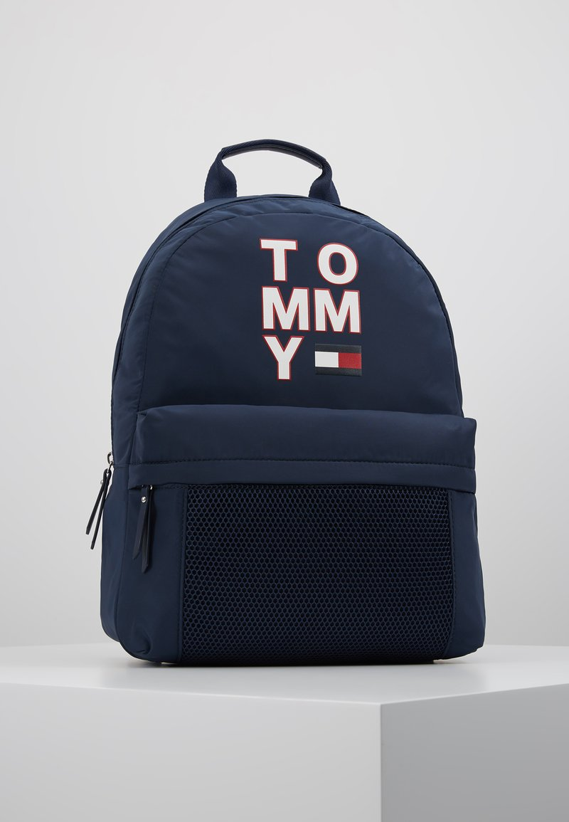 Tommy Hilfiger - KIDS BACKPACK - Reppu - blue