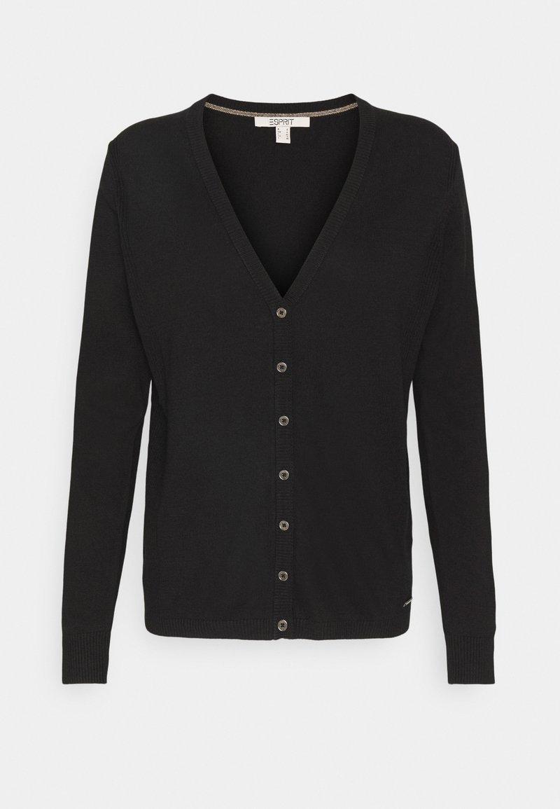 Esprit - BASIC  - Cardigan - black