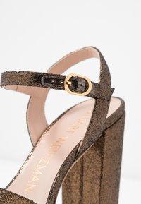 Stuart Weitzman - SOLIESSE - High heeled sandals - bronze - 2
