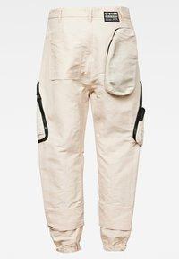 G-Star - E MULTIPOCKET  - Cargo trousers - whitebait - 5