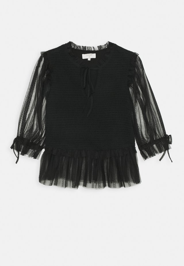 SAJA BLOUSE - Camicetta - pitch black