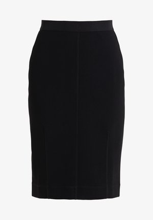 POLSON - Pencil skirt - black