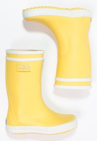 Aigle - LOLLY POP - Kalosze - jaune/blanc - 1