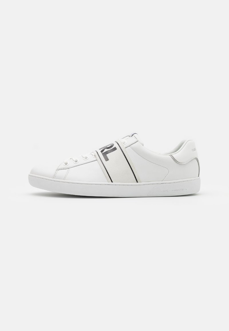 KARL LAGERFELD - KOURT BAND LACE - Sneakers basse - white