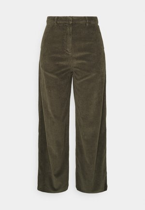 POSEY LOOSE HEAVY PANTS - Trousers - forrest night