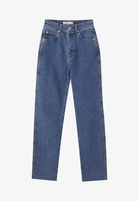 PULL&BEAR - SLIM MOM - Jeans slim fit - dark blue - 5