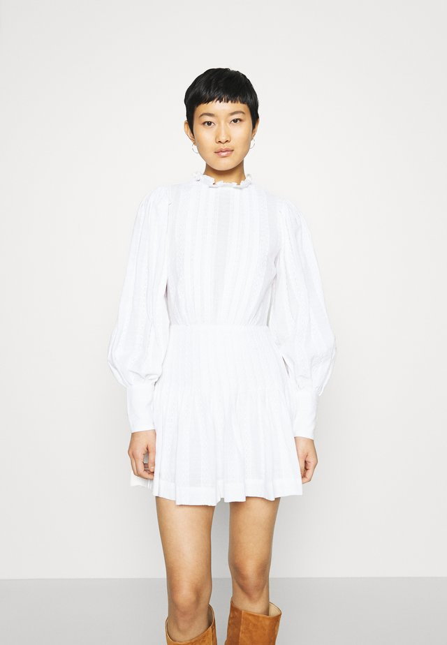 ELODIE MINI DRESS - Day dress - ivory
