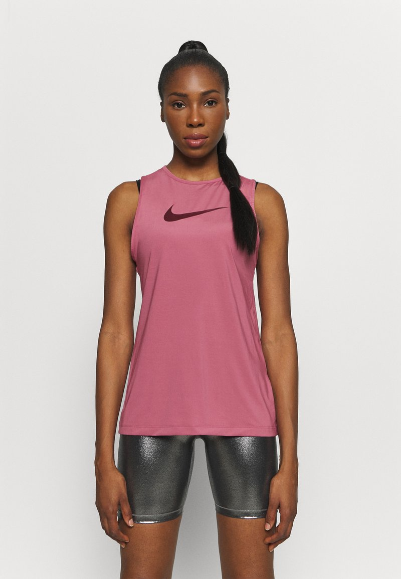 Nike Performance - Top - desert berry/dark beetroot