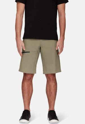 LEDGE - Sports shorts - olive, gunmetal