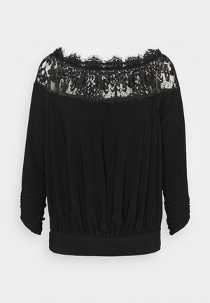 ELENI PETITE - Blouse - black