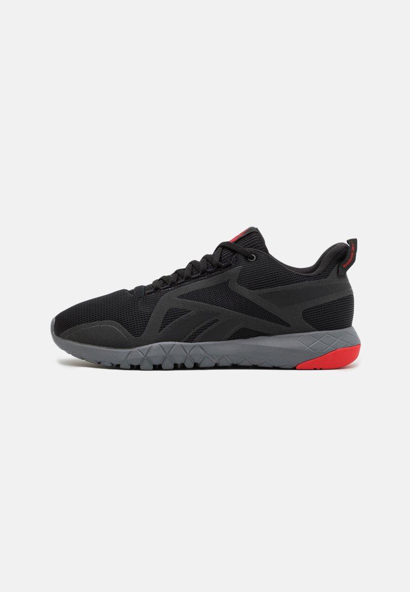 Reebok - FLEXAGON FORCE 3.0 - Zapatillas de entrenamiento - core black/pure grey/red