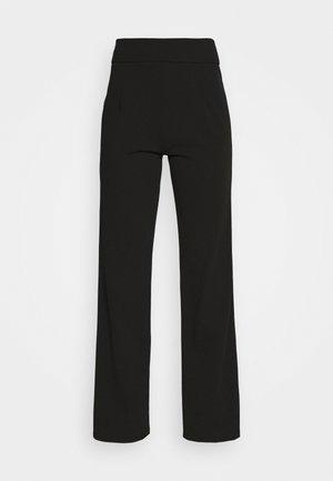 YASVICTORIA PANT - Bukse - black