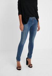 Marc Cain - Jeans slim fit - blue denim - 0