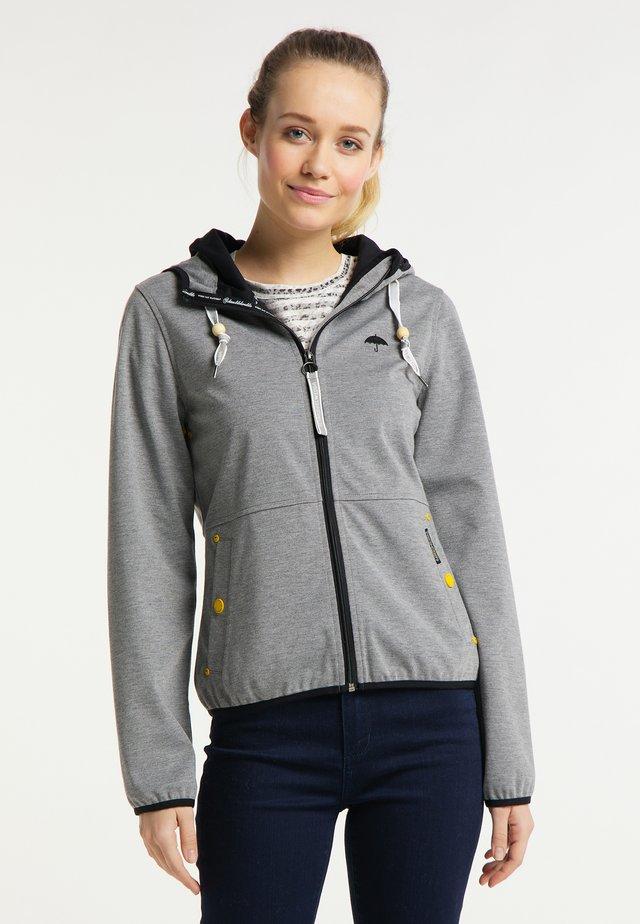 Outdoorová bunda - mottled grey