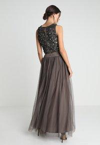 Lace & Beads - MARIKO SKIRT - Maxi sukně - stone - 2