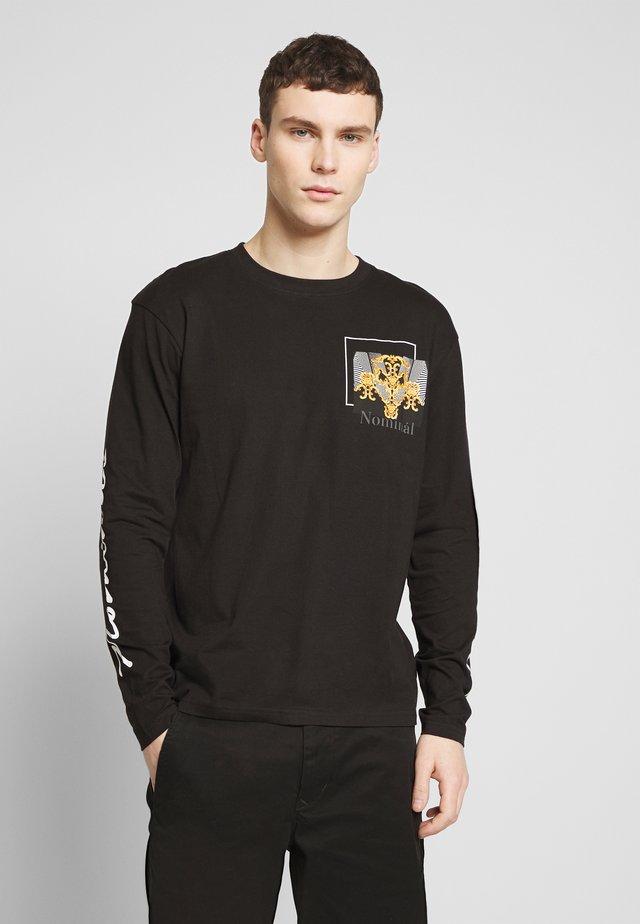 ROME TEE - T-shirt à manches longues - black