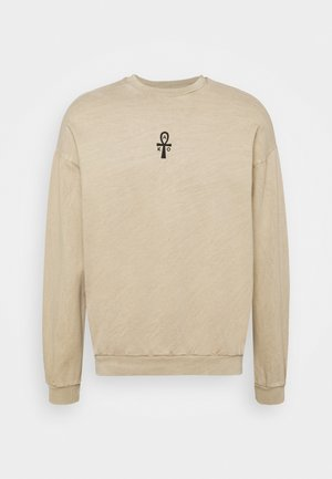 CREW CAT - Sweatshirt - brown wash