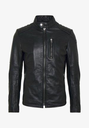 SAMI - Kožená bunda - black
